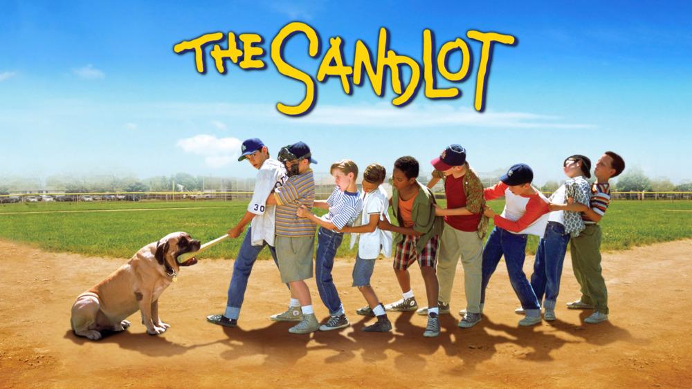 The Sandlot Movie Logo Outdoor movie: the sandlot - scera